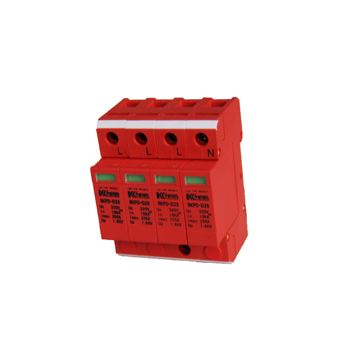 320V Surge Protector Single Phase 4P Class D Lightning Arrester SPD