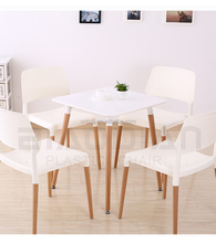 Factory Modern Design Wooden Dining <strong>Table</strong> With Square Top