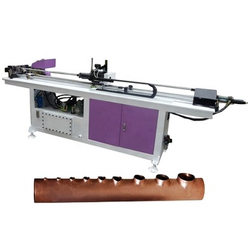 Full automatic air conditioner & refrigerator copper tube collar hole punching machine