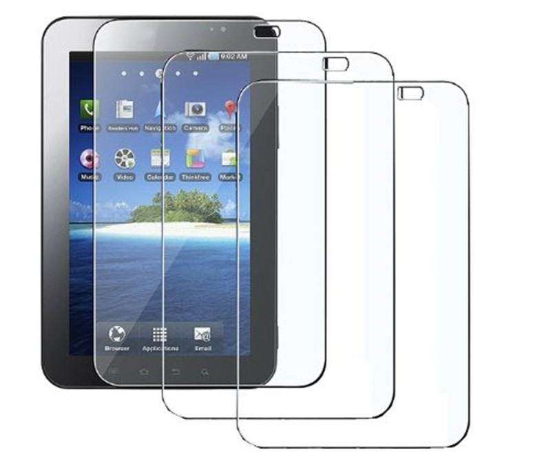 Screen Protector With Cleaning Cloth For Samsung <strong>GALAXY</strong> <strong>Tab</strong> <strong>P1000</strong> Tempered Glass Tablet