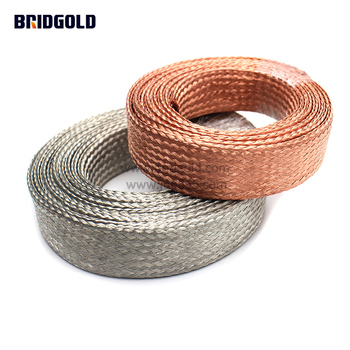 Low price 30awg bare copper wire braid factory, copper braid wire