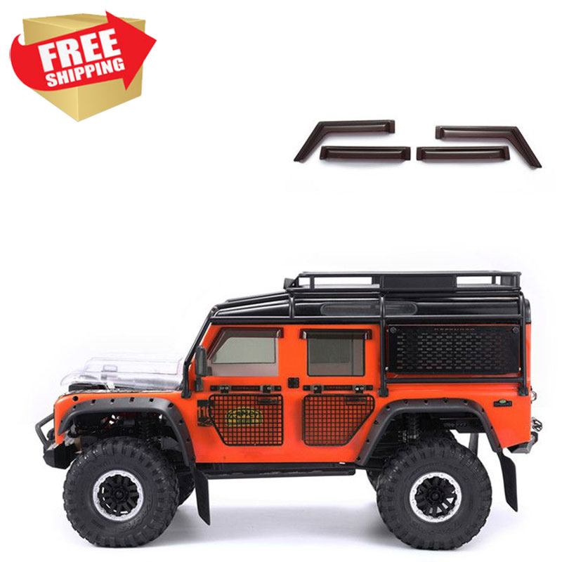 Radio control RC TRX4 Traxxas 82056-4 Land Rover Defender <strong>D110</strong> Rainshield Acrylic Transparent Option upgrade parts