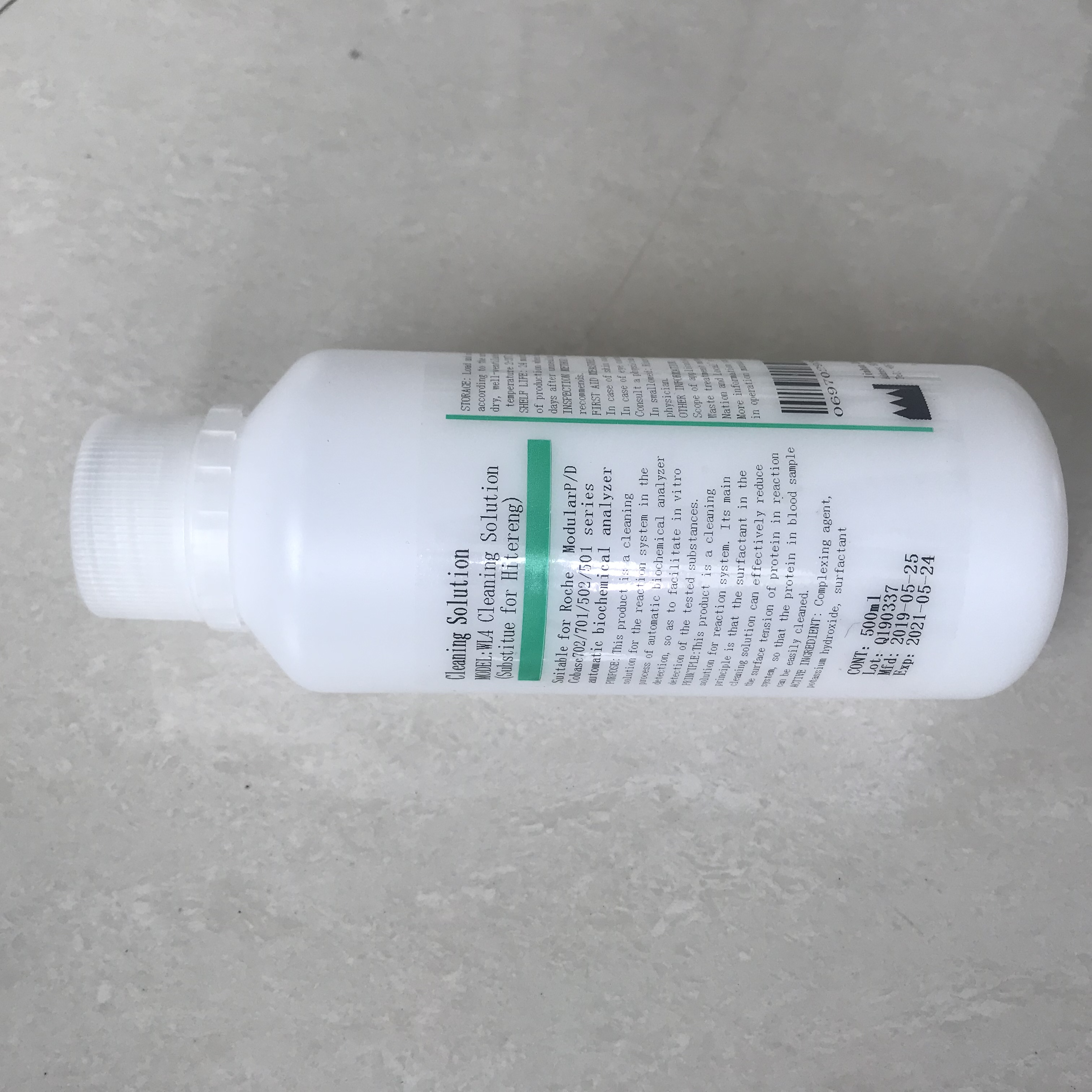 500ml Hitergent WL4 Roche Cobas c311 <strong>c111</strong> c502 c501 c702 c701 biochemistry cleaner solution