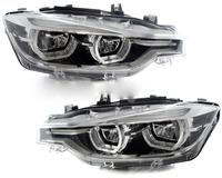 Auto parts head lamps B.M.W F30 F35 FULL LED LCI headlight 63117419633 63117419634