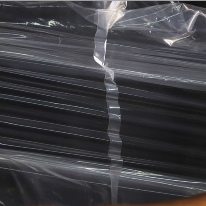 Clear Plastic  Pe Flat Poly Bag For Food Packaging