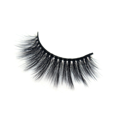High-quality 3D chemical fiber eyelashes natural false eyelashes thick with long eyelash <strong>OEM</strong> roll become warped