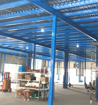 Heavy Duty Selective Pallet Racking Storage Racking System Mezzanine Floor Racking