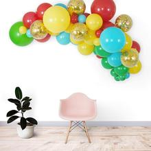 Popular New Design Rainbow Balloon Arch and Garland Kit For Birthday Baby Shower Anniversary Party