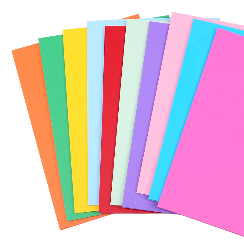 230gsm colorful art A4 card board  Colored Card Paper