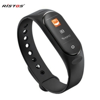 RISTOS W3559 Smartwatch Heart Rate Blood Pressure Watch Smart Bluetooth Step Counter Sport Screen Touch Watch