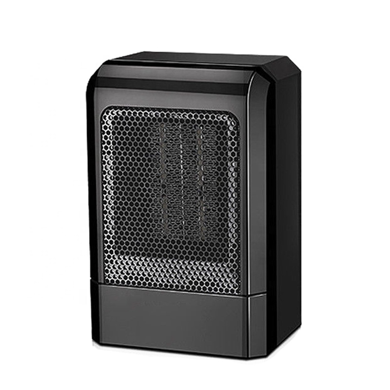 Portable <strong>Heater</strong> Desktop Black Mini 500W Portable PTC Electric Hot Fan Home Winter Warmer Mini Electric Ceramic Fan <strong>Heater</strong>