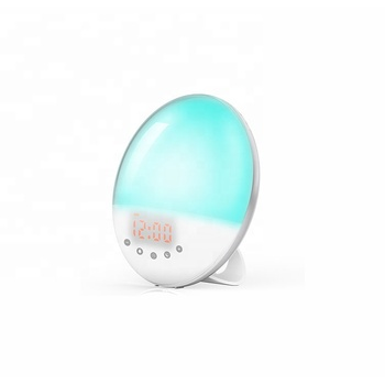 Factory price brand new sunrise alarm clock wake up light