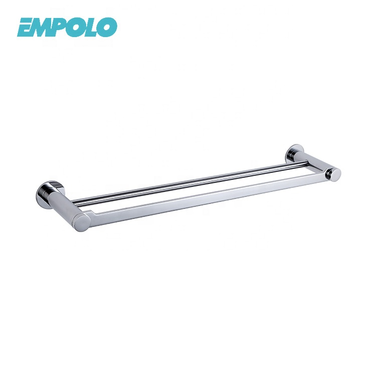 OEM Factory Supply Bath Accessories Metal Brass Double Towel bar