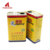 Empty glue tin can adhesive metal can chemical tinplate can