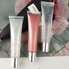 Wholesale private label cosmetic customized 69 colors DIY lipstick lipgloss lip squeeze tube lipgloss