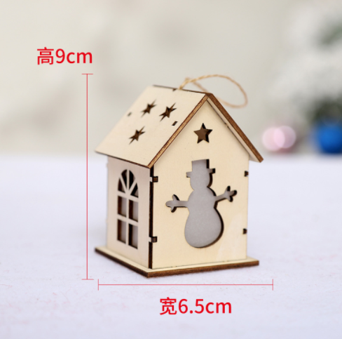 FQ brand Home Decoration Accessories house with light