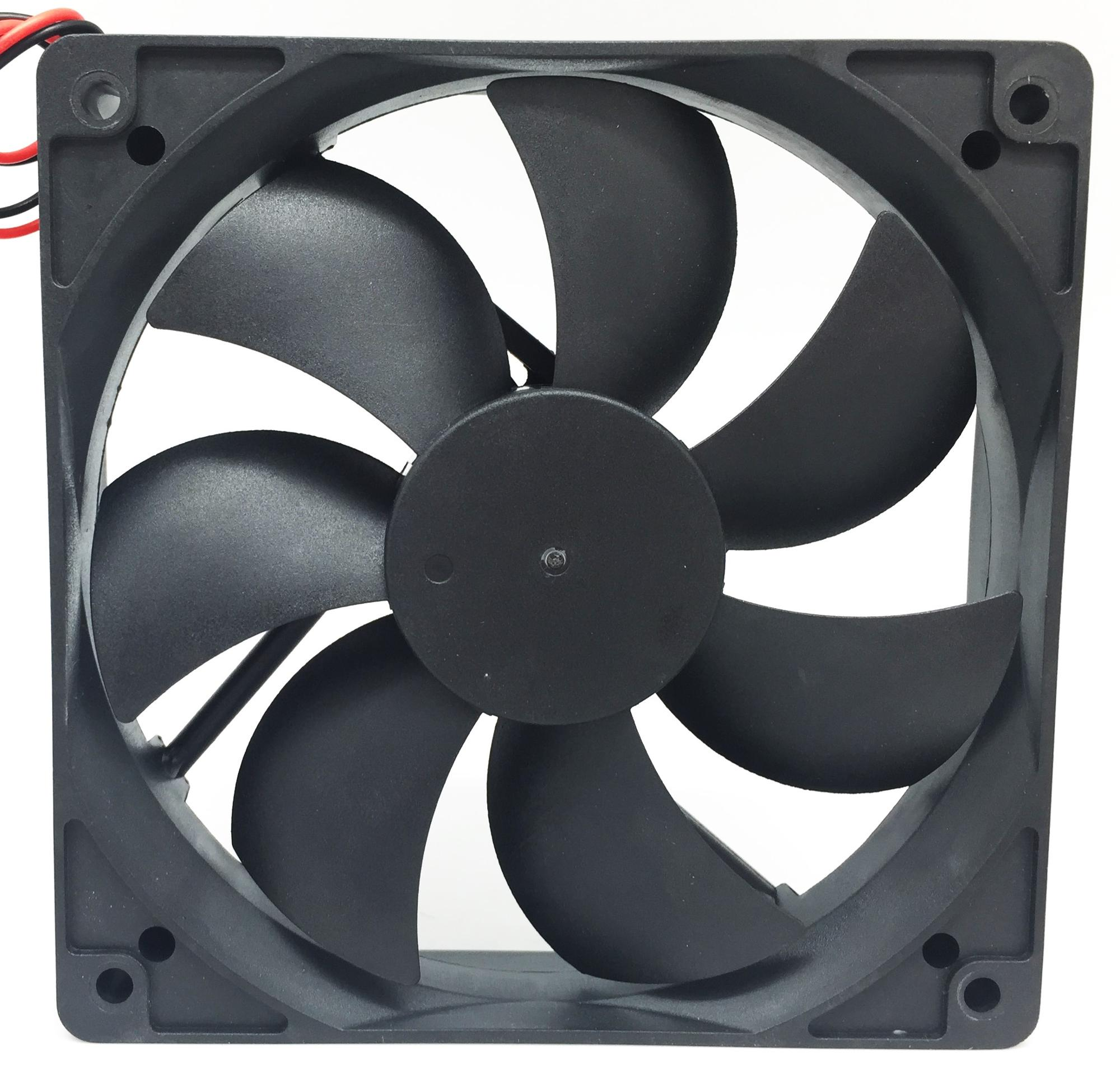 China Manufacturer 12025 120mm Axial cooling fan 12v 24v  120x120x25  high speed Cooler Fan
