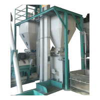 1-3 TPH chicken feed processing machinery dog food production line pellet feed animals