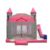 Princess Jumping Castle Bouncer Slide Combo Commercial Bounce House Pink With Slide For Kids