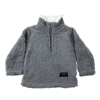 2019 boy girl winter soft fleece sweatshirt kids Frosty tipped sherpa pullovers