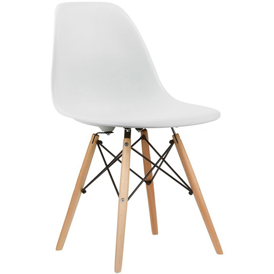 Home Living Dining Room Restaurant Sillas Abs Plastic Chair With Solid Wood Legs HYH-A304