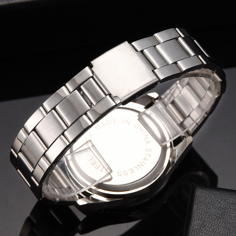 Hot Selling Men  Watch Best Gifts Wrist Watch Stainless Steel Band Watch Quartz Watches for Mans