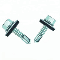 Hex Head Building Roofing Screws/Self Drilling Screws With Rubber Washers