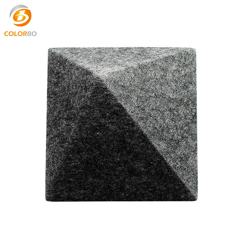 3D Model Customized Pressed Polyester Fiber/PET Acoustic Wall <strong>Panel</strong>