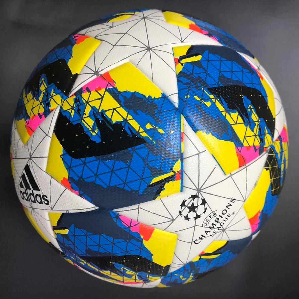 high quality pu leather custom print size 5 thermal bonded soccer football <strong>ball</strong>