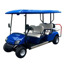 Electric sightseeing club car electric golf cart sightseeing bus for sale