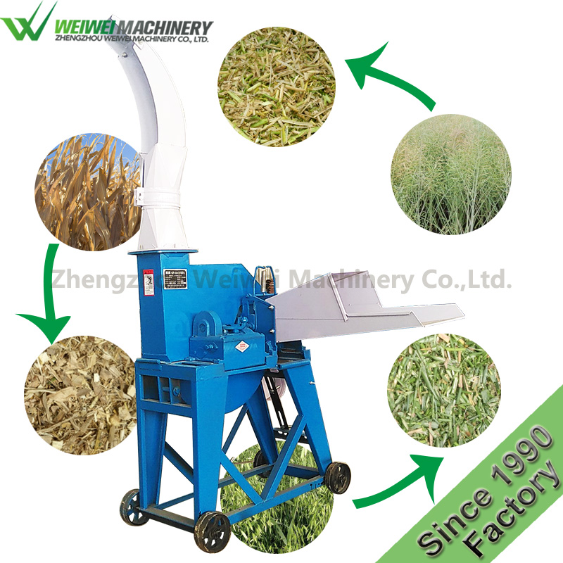 large scale silage cutter