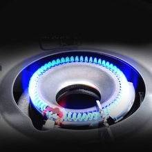 commercial hob household Embedded glass panel steel wood desktop Range <strong>Heater</strong> commercial wok burner gas frying stove