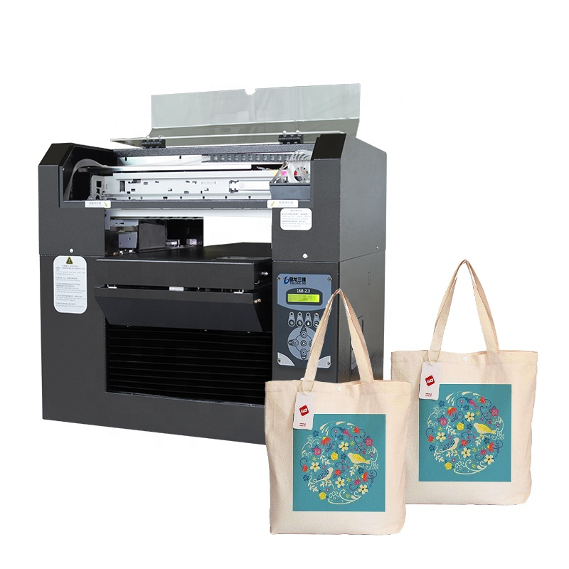 Newest Canvas Bag <strong>Shoes</strong> Printer A4 A3 Logo Printing Machine Easy Operation