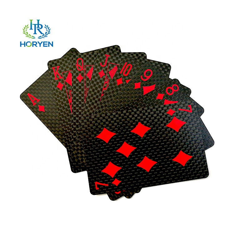 Hot sell Waterproof <strong>carbon</strong> playing cards Best price