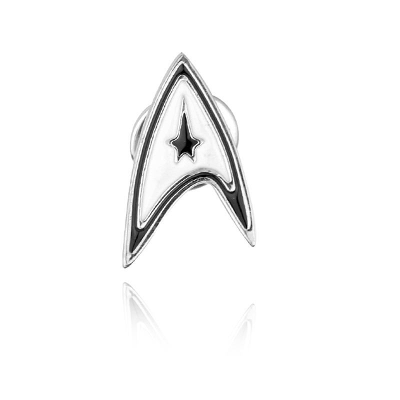 Star Trek Picard Combadge Rank Brooch Command Science Engineering Pin Badge Accessories