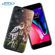 Printing Back soft case for iPhone XR tpu silicon Phone Case  for iPhone X 11 cover CR7 Cristiano Ronaldo