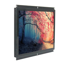Industrial Waterproof 15.6 Inch Tempered Glass Interactive Open Frame LCD <strong>monitor</strong> for Payment kiosk