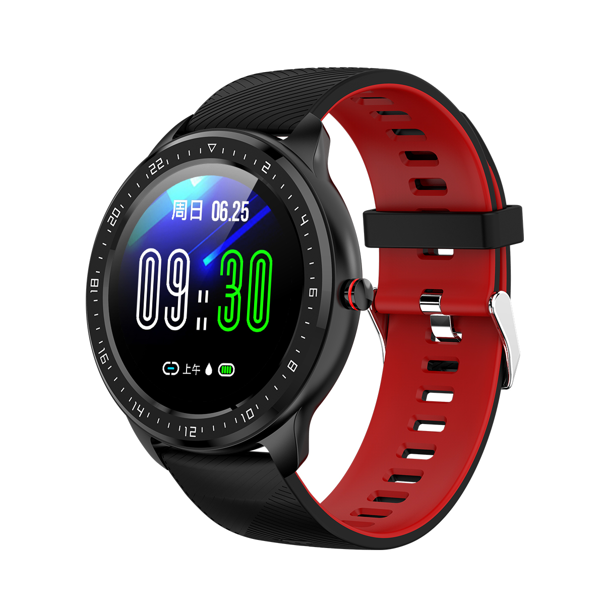 Fashion Style <strong>Z06</strong> Smart Watch Blood Pressure Health Activity Fitness Tracker Watch Wearable For Xiaomi IOS Android Mobile