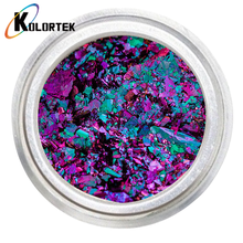 Chameleon nail glitter color changing pigment cameleon irregular nail art flakes