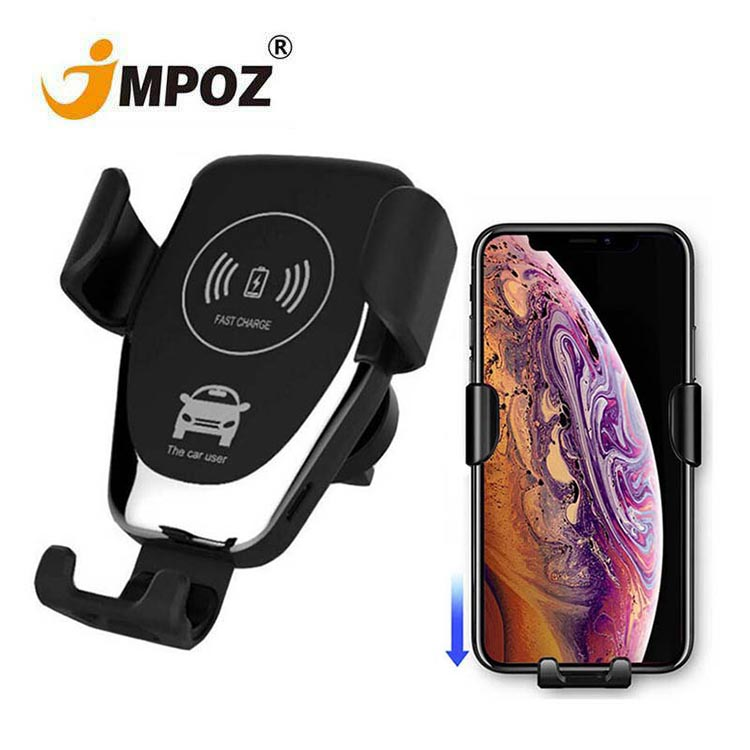 <strong>C12</strong> Wireless Car Charger 10W Fast Wireless Charger Car Mount Air Vent Gravity Phone Holder for iphone samsung all Qi Devices