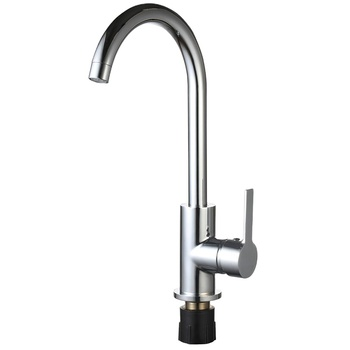 Factory Price Kitchen Faucet Mixer Tap with Zinc Handle