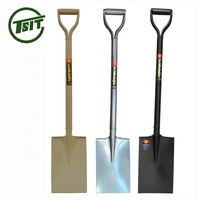 Hot sell Nigeria type all steel strong garden farming spade