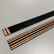 2 Layer <strong>1</strong>.0mm Thickness 500mm Length FR4 PCB Rail Tracking Strip Base with Antioxidant coating for Spotlight