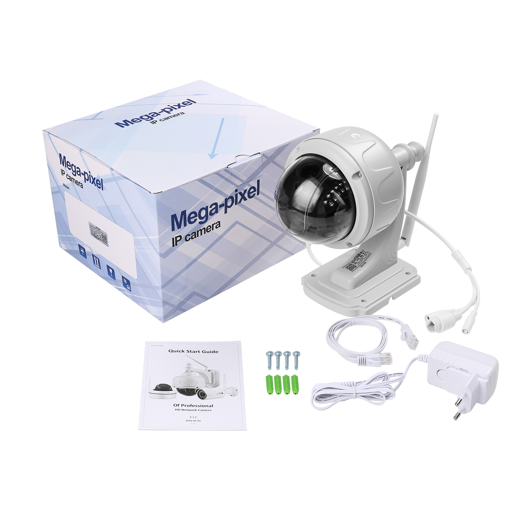 Shenzhen Bosesh CCTV cameras 5.0megapixel security system WiFi camera support wireless waterproof for sale