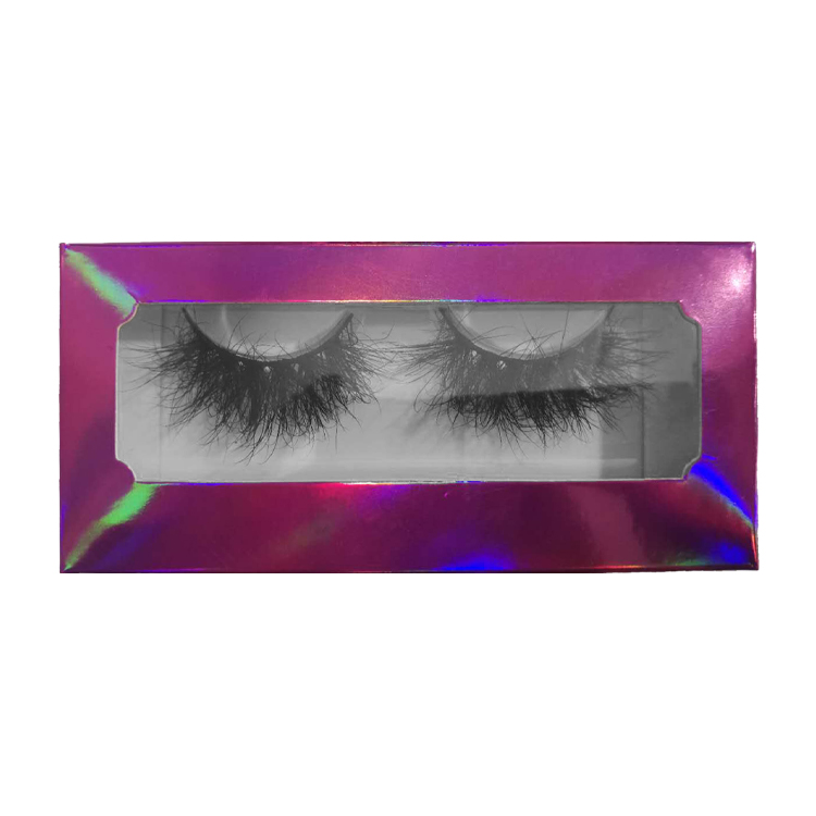 Week Discount <strong>Promotion</strong> Bottom Price Free Holo Pink Box 1$ Wispy 3D False Eyelash Bulk Real Mink Fur Eyelashes