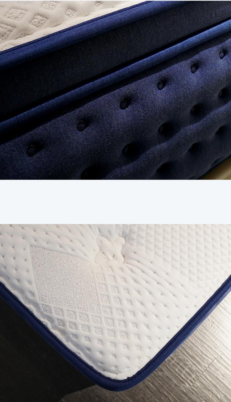 Punk luxury and comfortable memory foam gel mattresshotel mattress standard mattress multifunctional factory - Jozy Mattress   Jozy.net