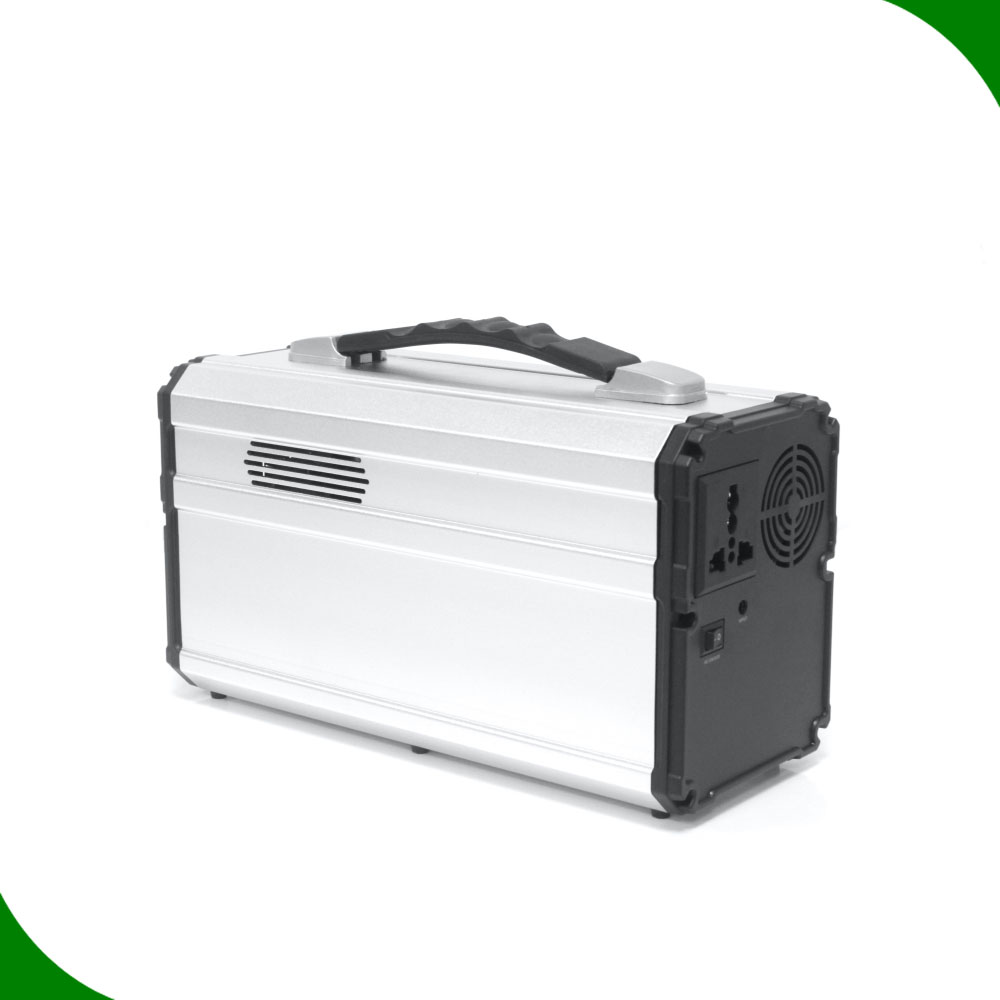 300W home portable pure sine wave lithium battery inverter generator power bank station 220V <strong>AC</strong> 12V DC 5V 2*QC 1*USB output