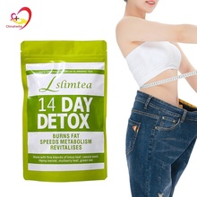 Best Selling WanSongTang 14 Day Detox Slim Flat Tummy Tea bags Private Label organic slimming tea Fit Tea