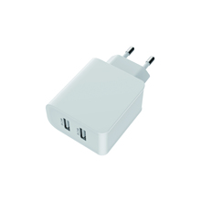 eu/us plug dual usb wall charger multiple outputs for iphone/samsung/Huawei/other <strong>phones</strong> fast charging travel charger