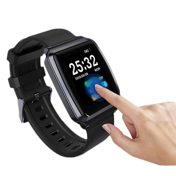 KY116 Full Touch Color Screen Wristband Multi-function Sports Mode Fitness Tracker Smart Watch Bracelet